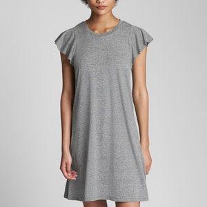 Gap Softspun Flutter Sleeve Dress